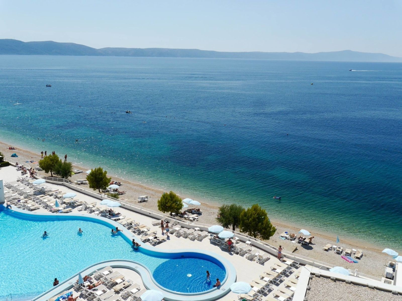 Sensimar Adriatic Beach Resort Igrane Croatia Pool