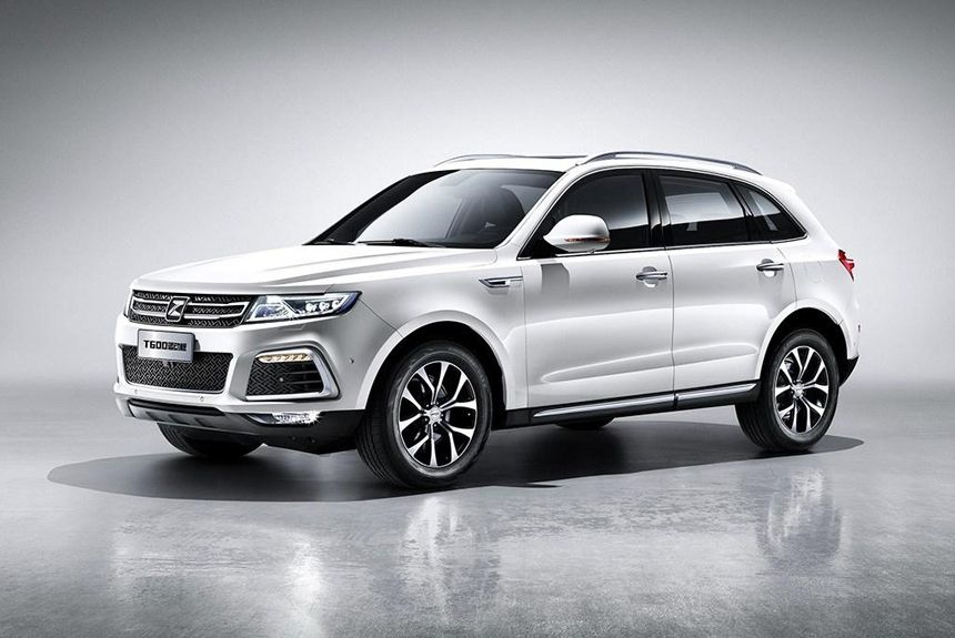 2016 Zotye T600 Sport Compact Crossover Chinese Car Automobile