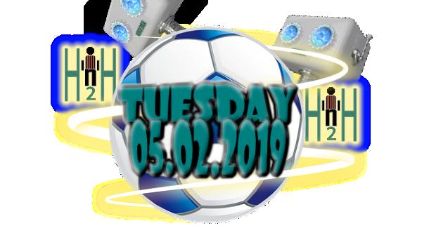 Tuesday Soccer Picks H2H 05 02 2019 | Free soccer