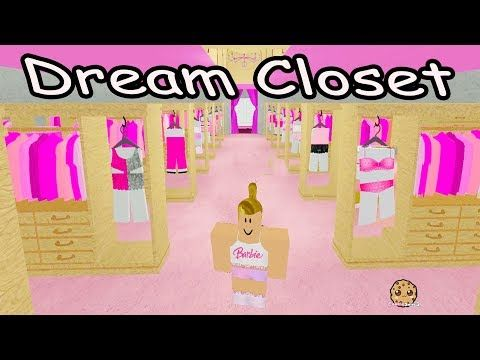 Dress Up In Barbies Giant Clothing Closet Roblox Life In The