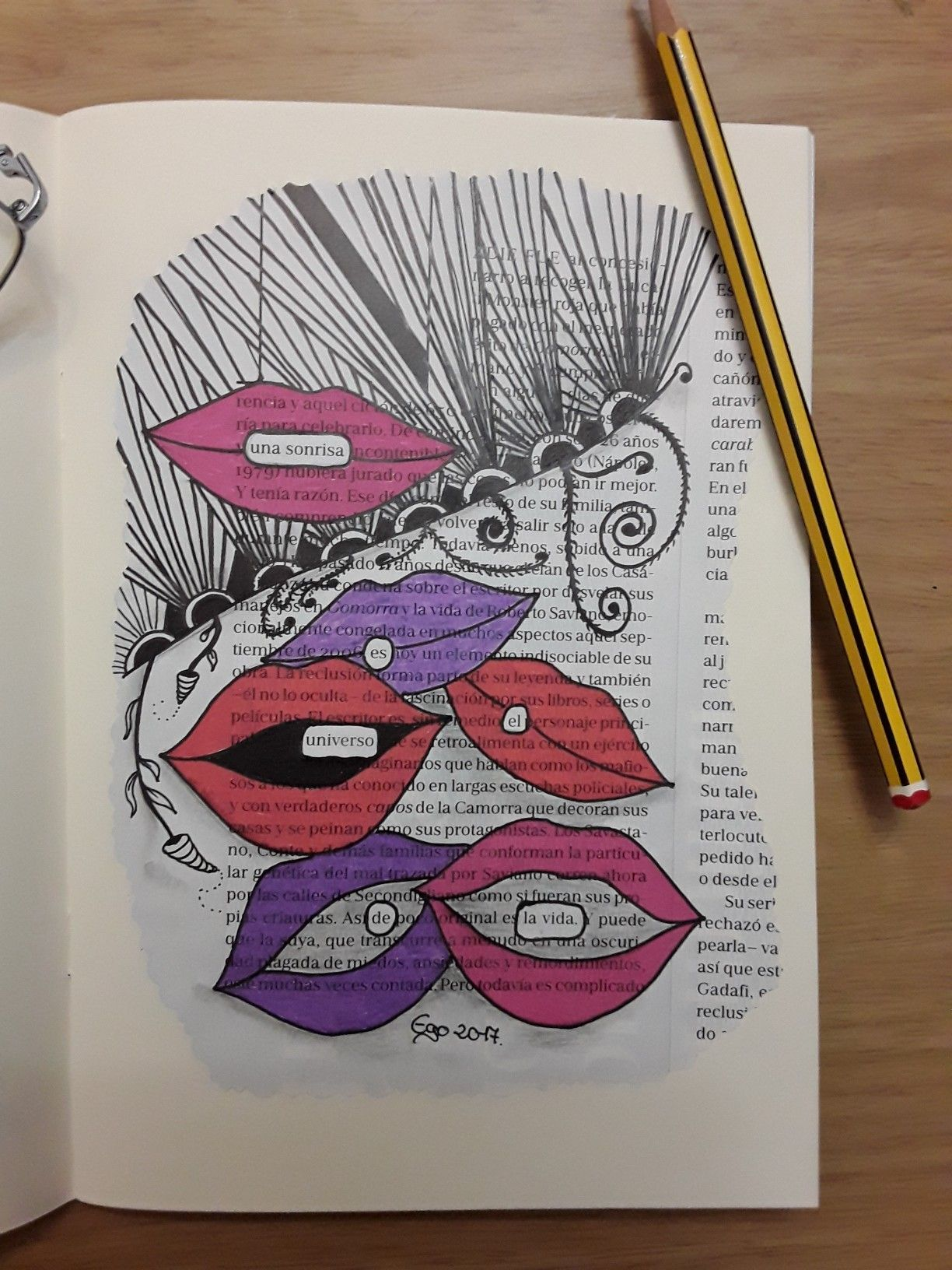 Pin By Angeles Vergara On Papel Tangle Zentangle Zen Enredos Dibujos Book Art Sketchbook Journaling Art Journal