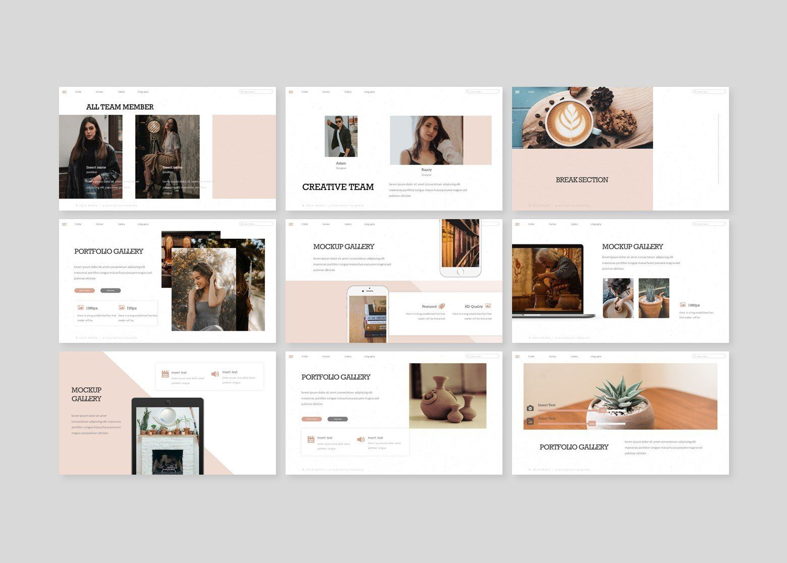 R powerpoint template