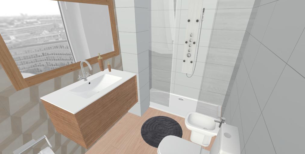 Baño 3D | Interiores, Disenos de unas