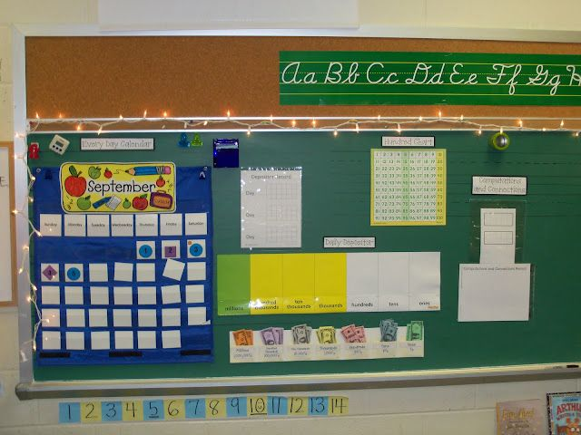 Third Grade Meanderings Math Board Great For Practice On Place