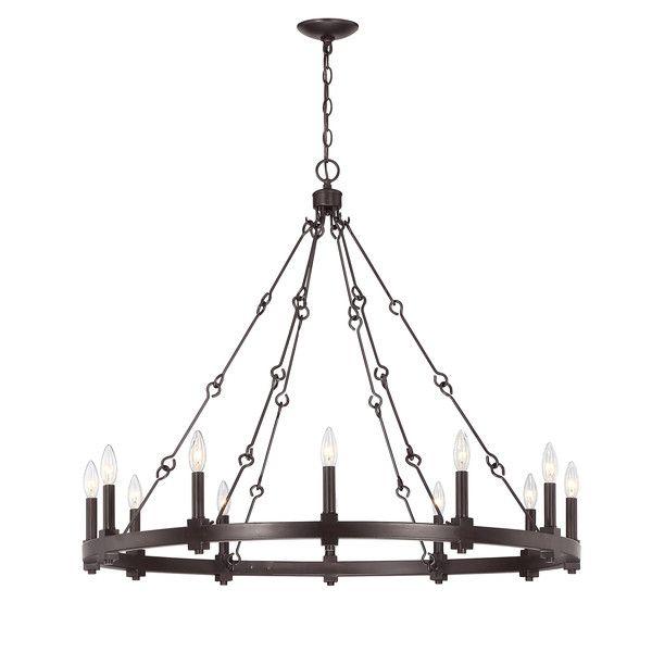 Above Kitchen Table.... Mandana 12-Light Chandelier $589 38 ...
