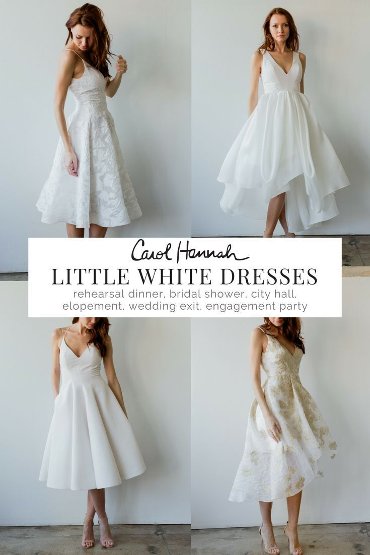 Little white wedding dress  Looking for a standout little white dress for all the events