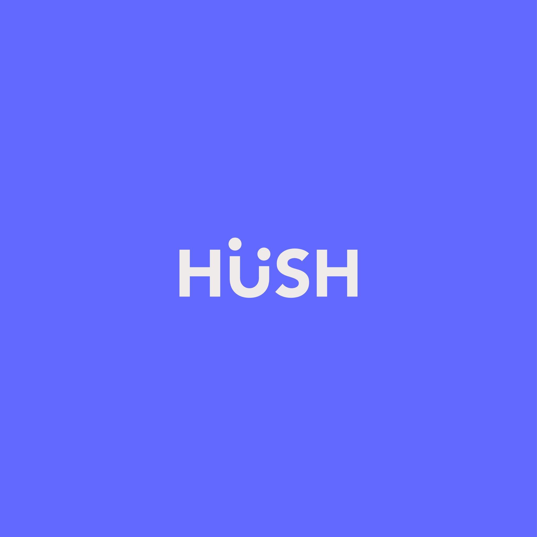 Hush app logo (con imágenes) Papelería