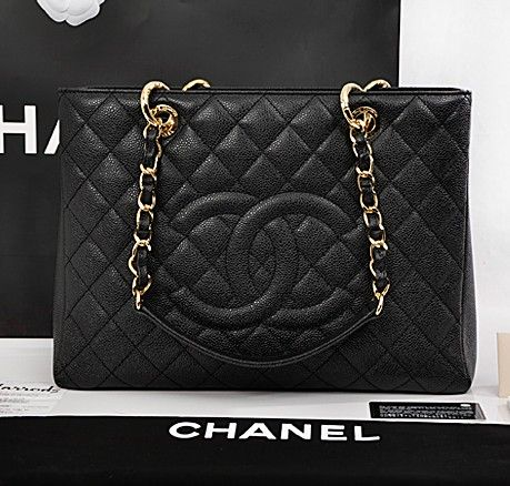 Chanel It Borse.Replica Perfetta Borsa Chanel Gst 33cm In Pelle Italiana Borse