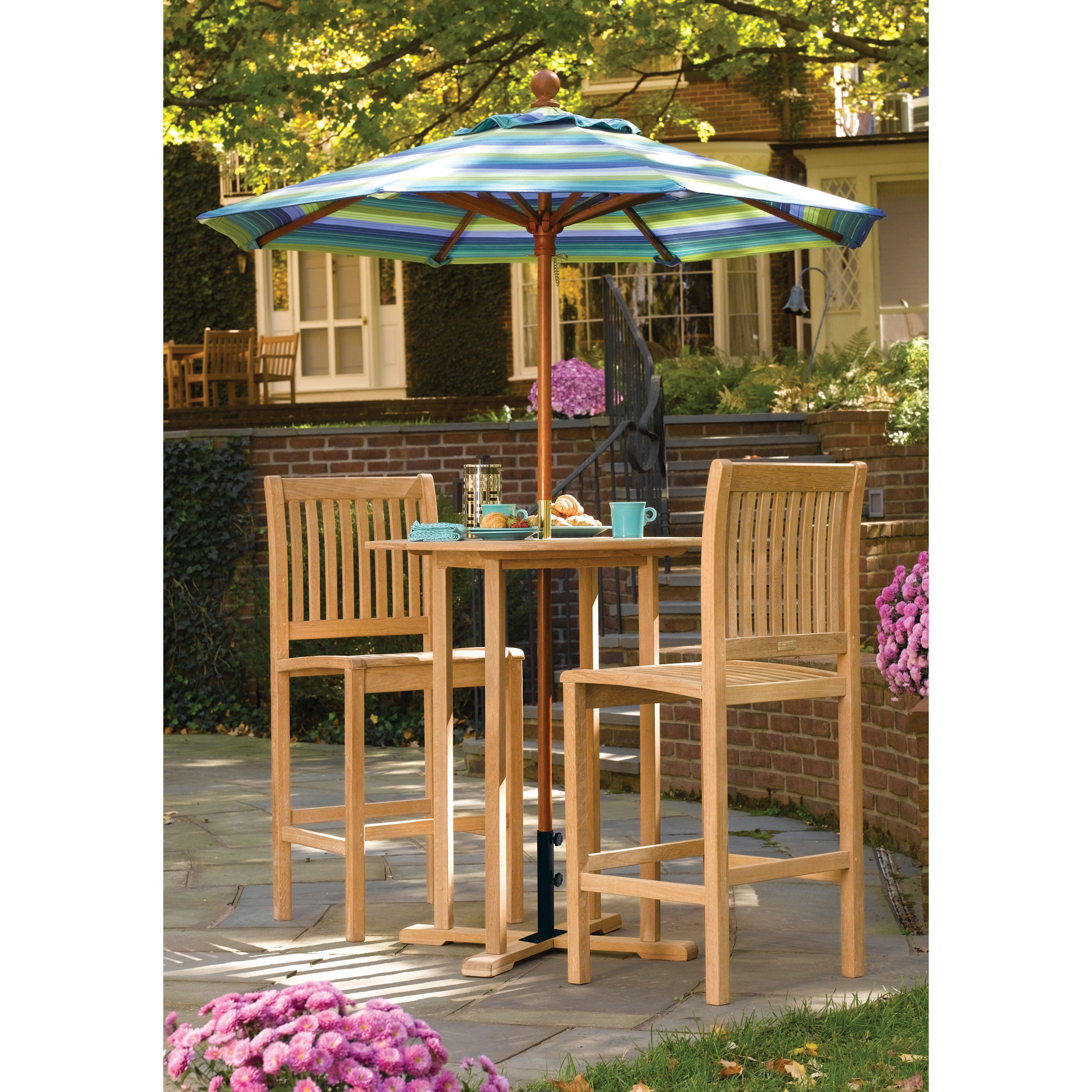 Oxford Garden Sonoma Bar Height Patio Bistro Set   $816.9 @