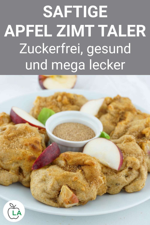 Apfel-Zimt-Taler - Rezept ohne Zucker und ohne Weizen Apfel-Zimt-Taler - Rezept ohne Zucker und ohn