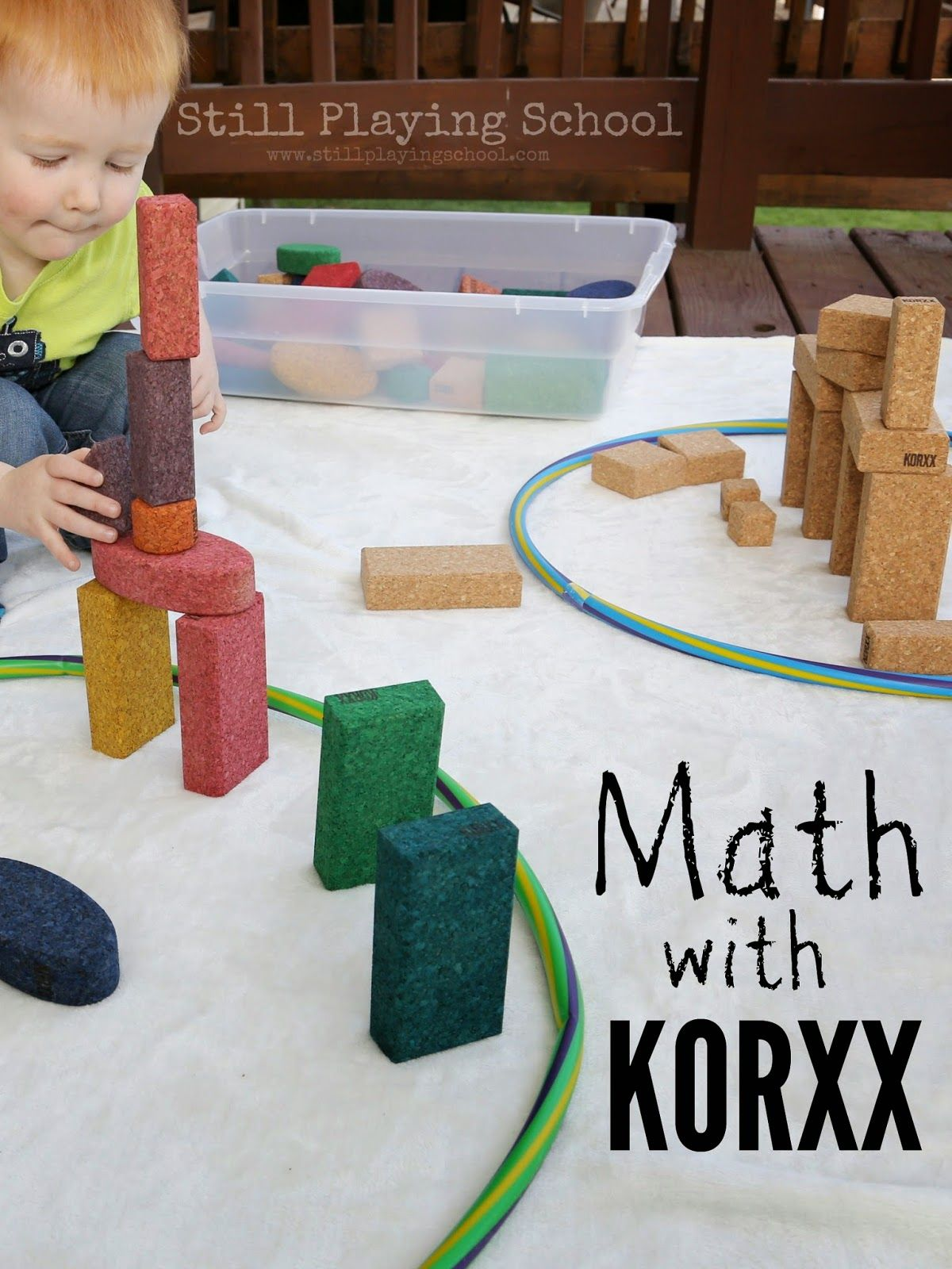 Math With Korxx Sorting Cork Blocks By Attributes