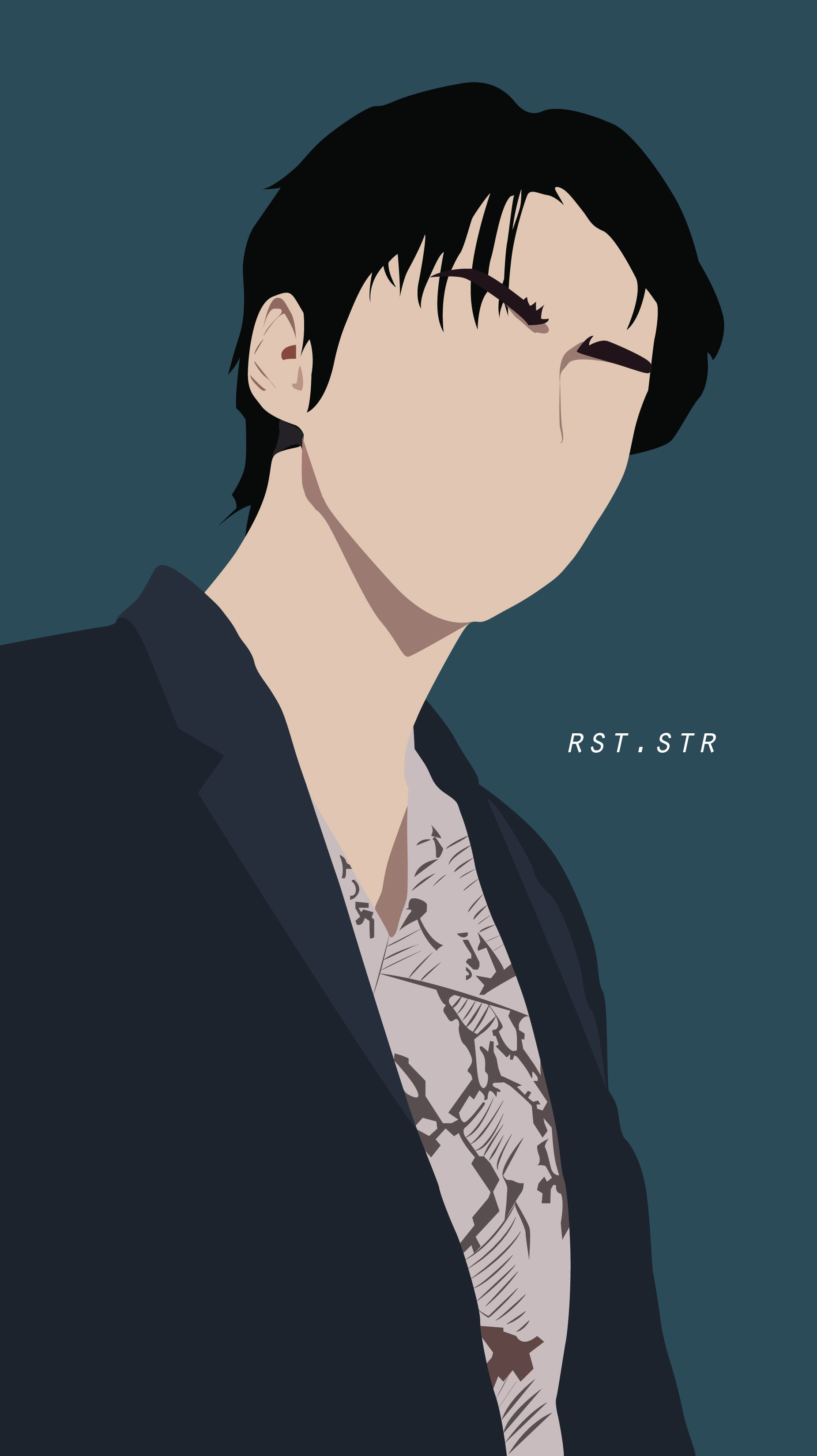 ooh sehun / exo /vector / line art / kpop / fanart ...