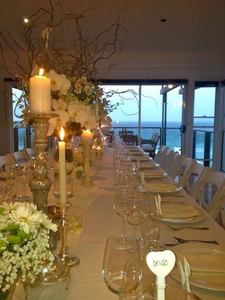 Intimate Small Dinner Party Wedding Stradbroke Island Events