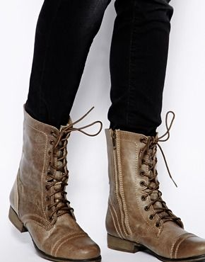 steve madden troopa boots outfits - Google Search