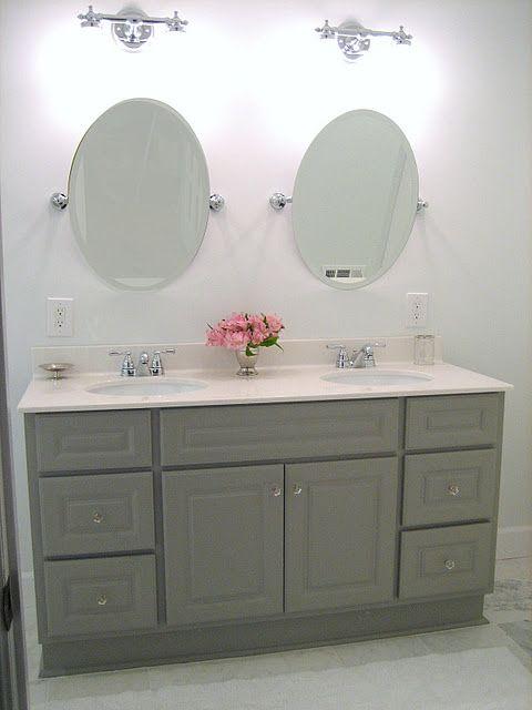 Oval Bathroom Mirror Ideas Diy