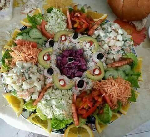 Salade Marocaine Ideas For Presentations Salad Vegetable
