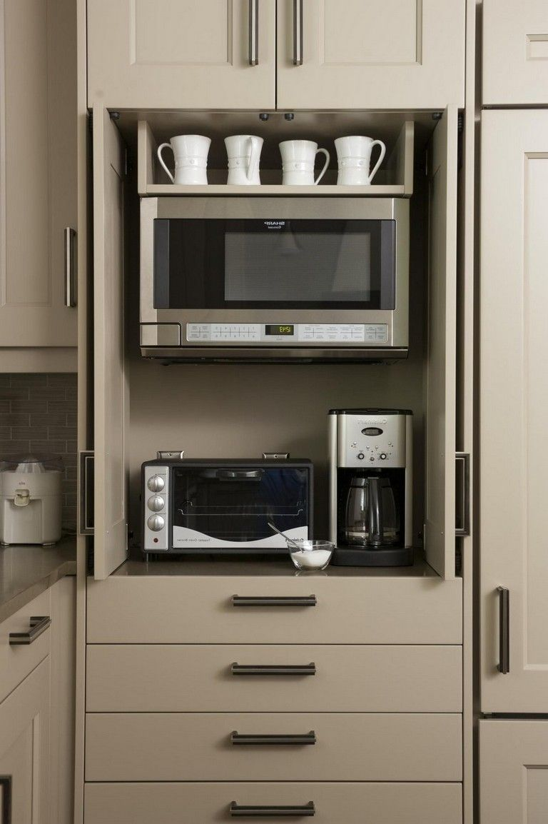 40 Bent Small Kitchen Storage For Saving Space Page 39 Of 43 Kitchen Cabinets Pantry Wall Kitchen Appliance Storage