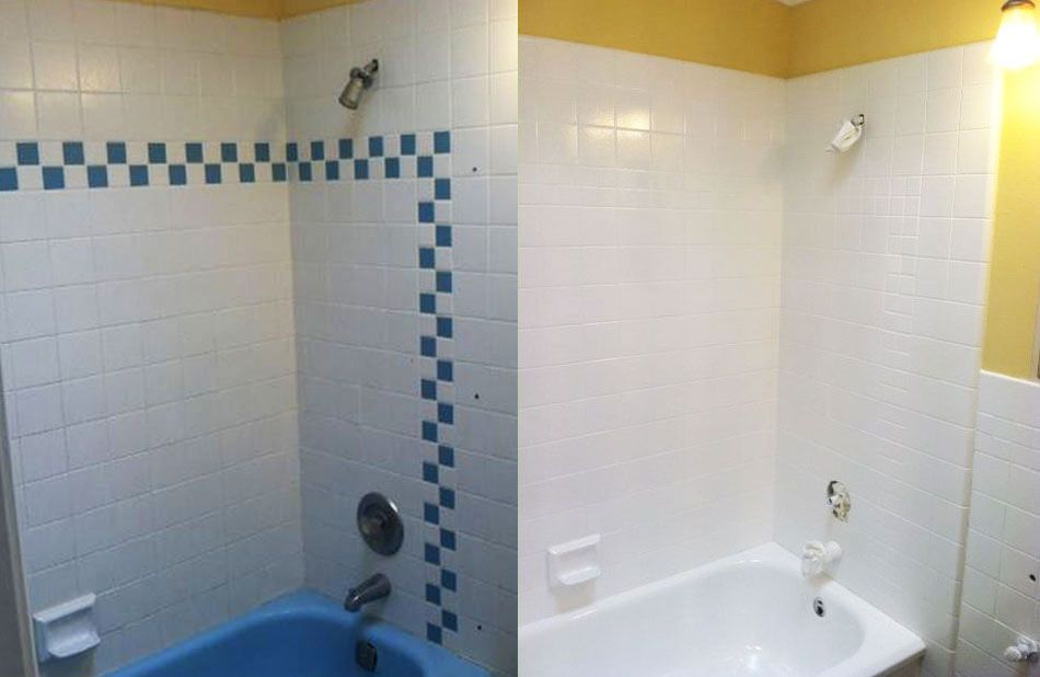 Nj Bathroom Shower Tile Reglazing Refinishing Resurfacing