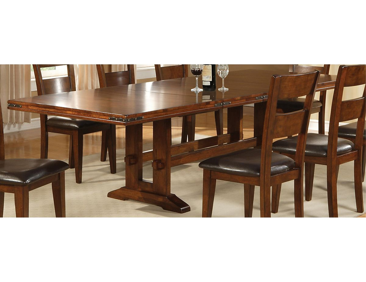 Meubles Brick Brossard Magnus Dining Table 1268t The Brick Maison