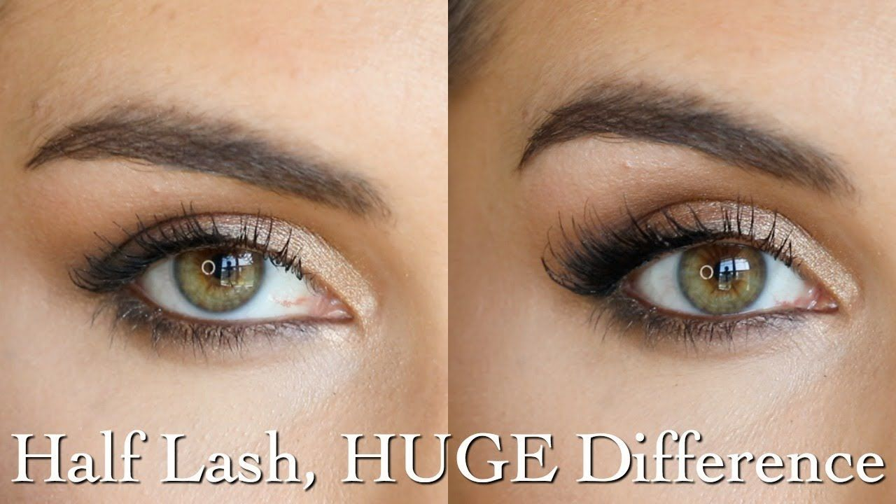 Accent Lashes Best styles & tips for applying half lashes