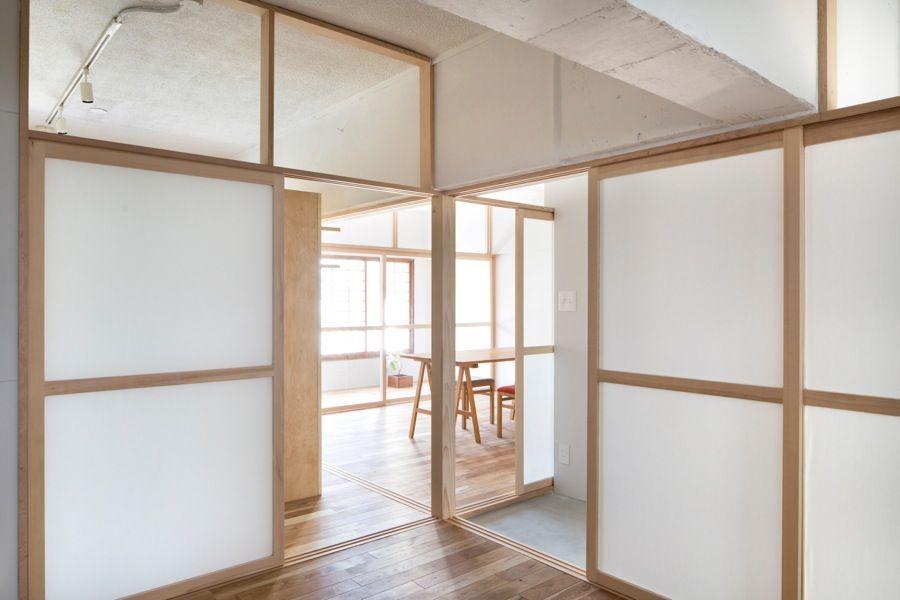 GLASS PARTITION WALL   DOOR UNIKA SLIDING DOOR ADIELLE - fabriquer porte coulissante japonaise