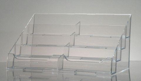 8 pocket clear acrylic countertop business card holder products 8 pocket clear acrylic countertop business card holder colourmoves
