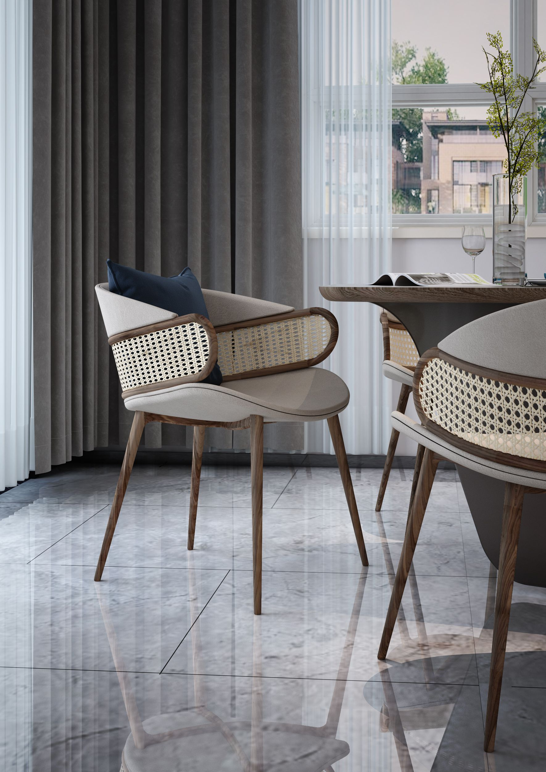 To achieve a luxurious and sophisticated environment there is some inspirations and ideas of contemporary chairs designed by Alma de Luce. This is the most perfect choice to achieve absolute perfection for your home décor. #almadeluce #contemporarychairideas #chairinspiration #exclusivechairs #modernchair #diningchair #luxurychair #inspirationfurniture #luxurydiningroom #moderndiningroom #woodchair #metallicchair #designchairs #uniquedesign #stunningchairs #organicchair #homedecorchair #chairs