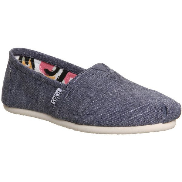 0c3abf7abf9 Toms Seasonal Classic Slip Ons ( 57) ❤ liked on Polyvore featuring shoes