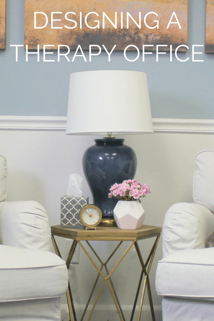 Designing A Therapy Office The Decor