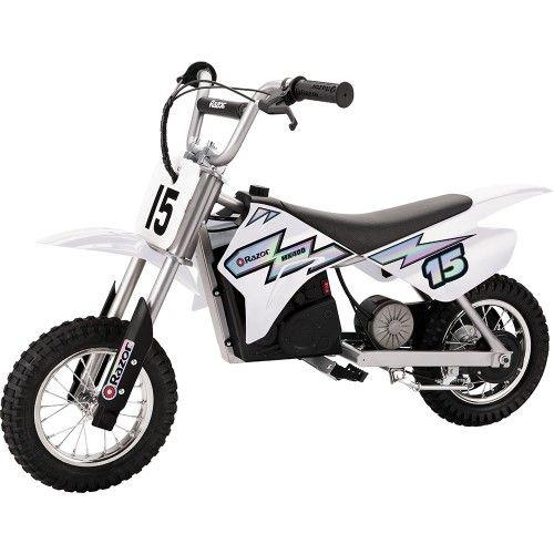 Razor Mx400 Dirt Rocket 24v Electric Toy Motocross Motorcycle Dirt Bike White Electric Dirt Bike Motocross Bikes Motorcycle Dirt Bike