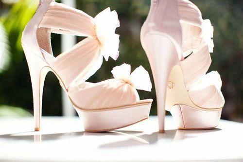Light Pink Wedding Shoes 3 Add Diy Www Customweddingprintables