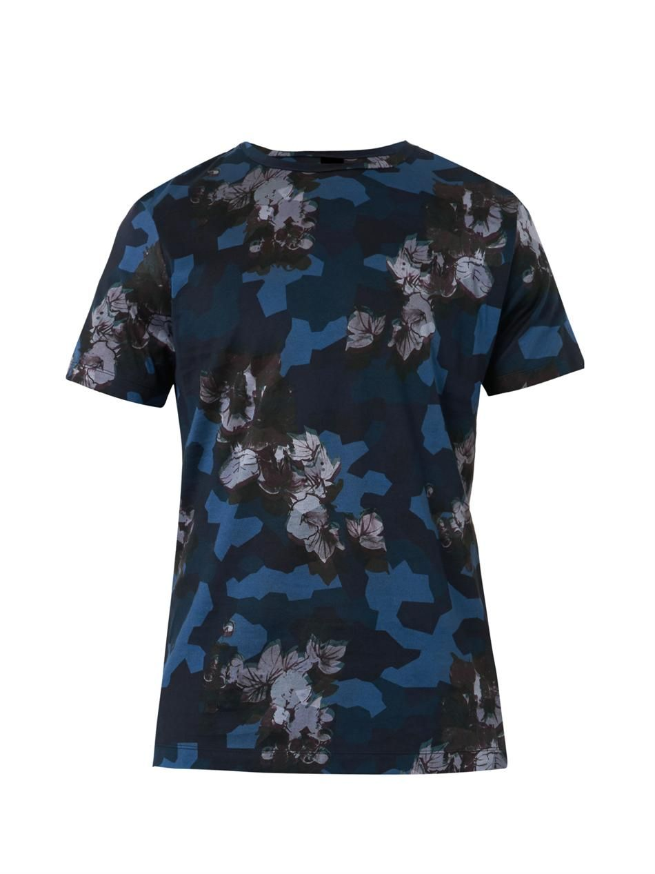 c66843ecb8e5 Paul Smith Ps Morning Glory-print T-shirt | 4rjna | Paul smith, Mens ...