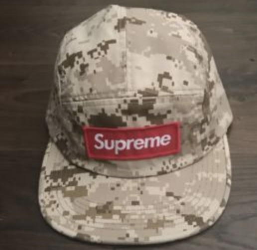 b7c551e7a04 FOR SALE  Supreme Nyco Twill Camp Cap Red Box Logo FW17 Sold Out Limited