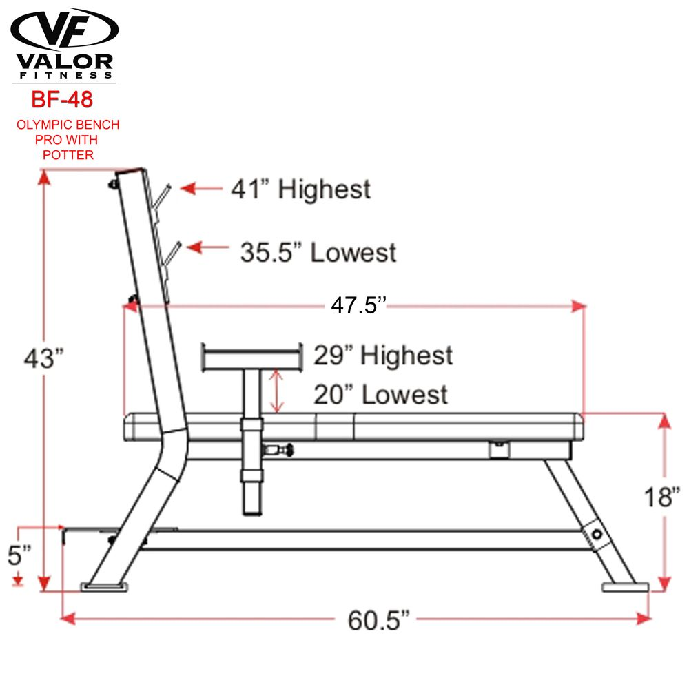 weight bench size (With images) | Weight benches Bench ...