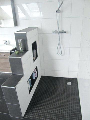 bad mit begehbarer dusche mini bad badezimmer ideen. Auf