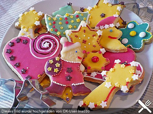 Butterplätzchen #sugarcookies
