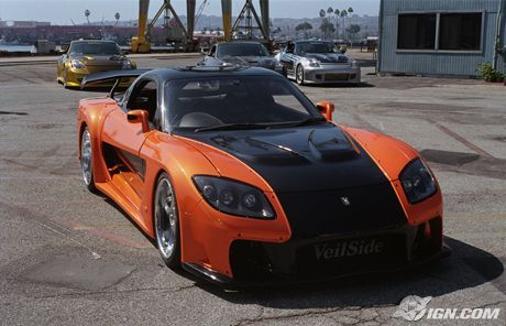 The Fast and the Furious: Tokyo Drift Car of the Day: VeilSide RX-7 ...