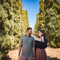 A gorgeous Tuscany pre-wedding photoshoot - WeddingSutra Blog