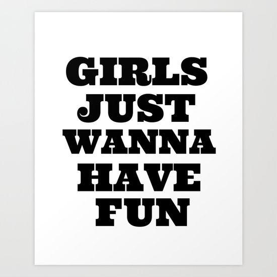 College girls wanna have fun