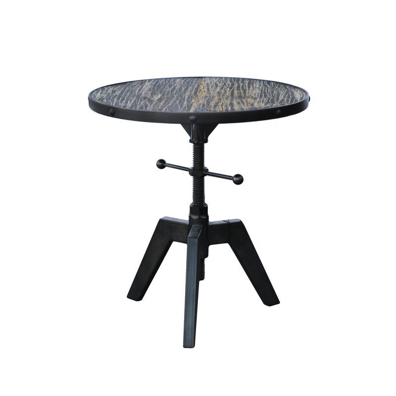 The Sutton Round Accent Table from LH Imports is a unique home decor item. LH Imports Site carries a variety of Kenya items.