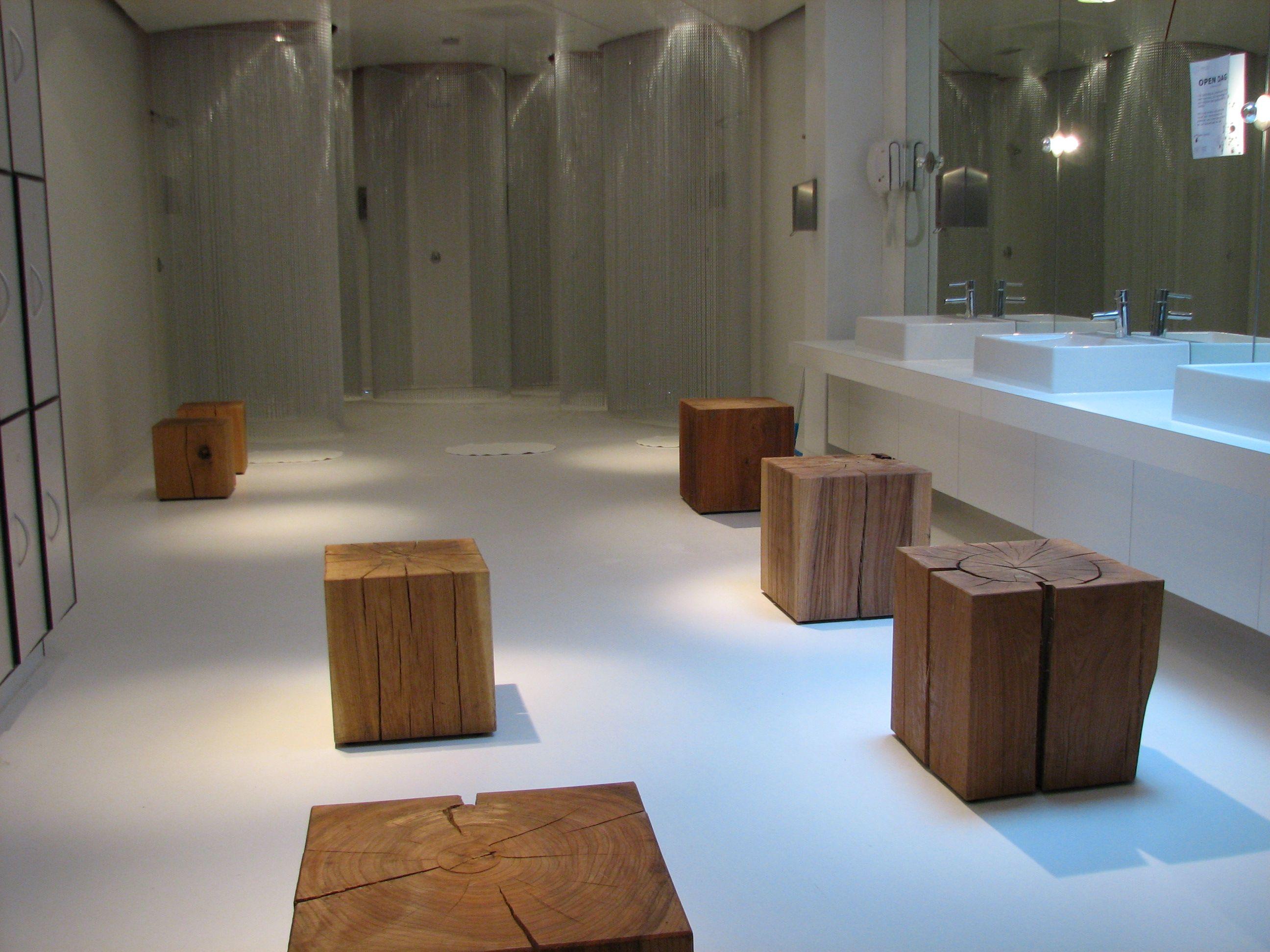 Polyurethaan gietvloer voor badkamer. In bijna iedere kleur ...