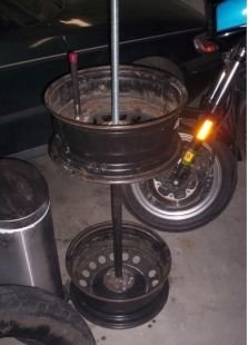 Homemade Tire Changer Homemadetools Net Herramientas Motos