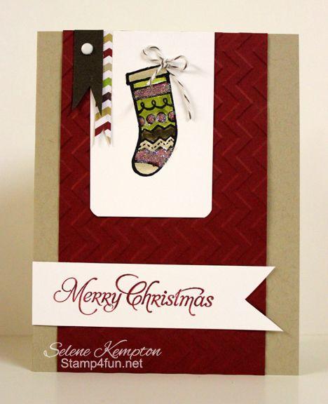 Color Me Christmas Stocking