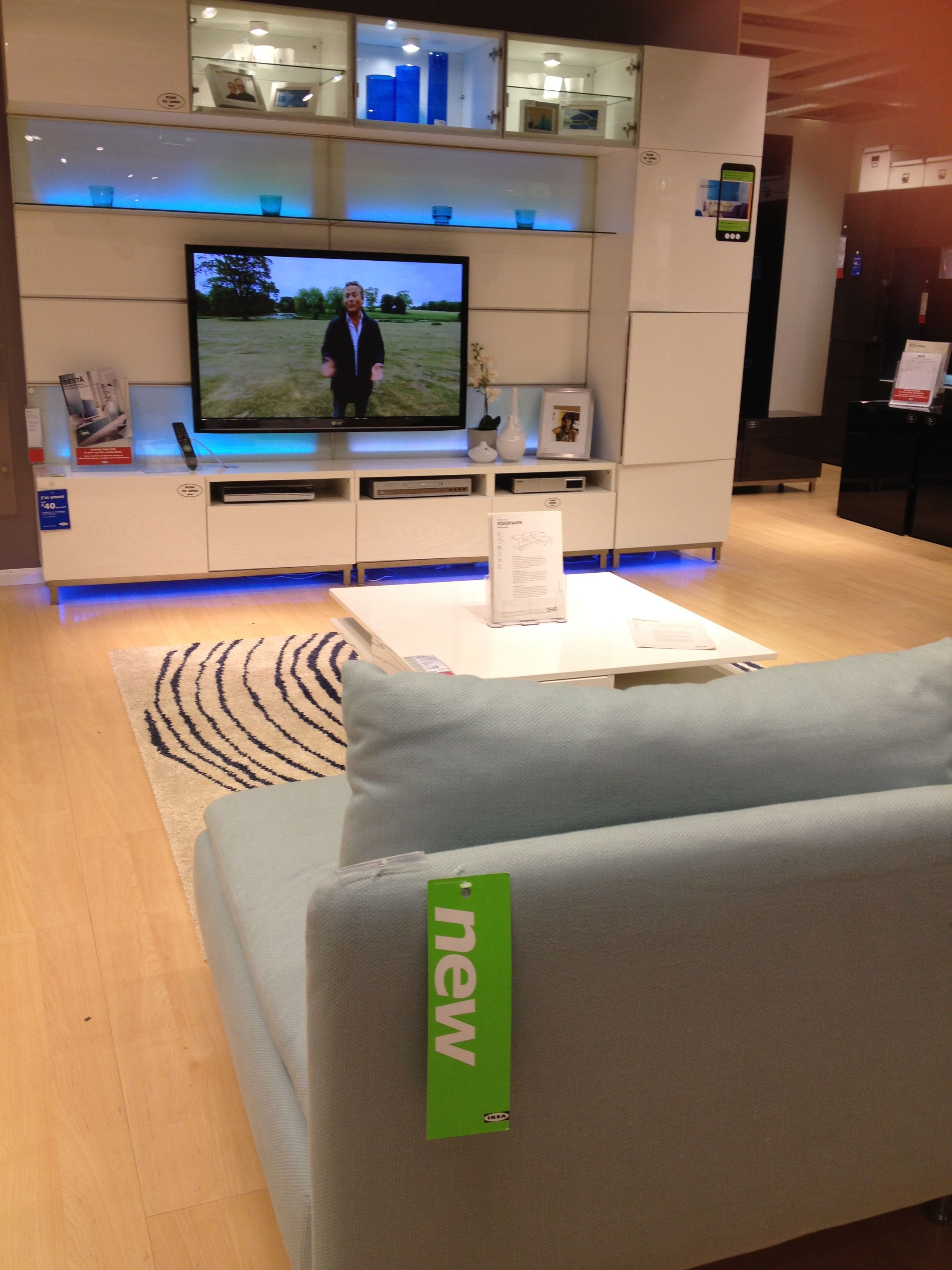 Ikea Soderhamn Armchair 225 Tofteryd Table 170 Besta White  # Tofteryd Meuble Tv