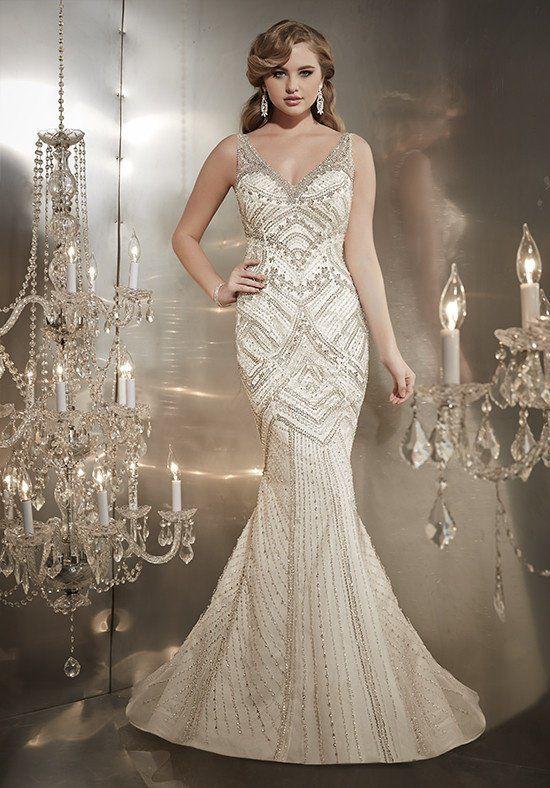 Christina Wu Style 15569 Wedding Dress - The Knot   Wedding Ideas ...