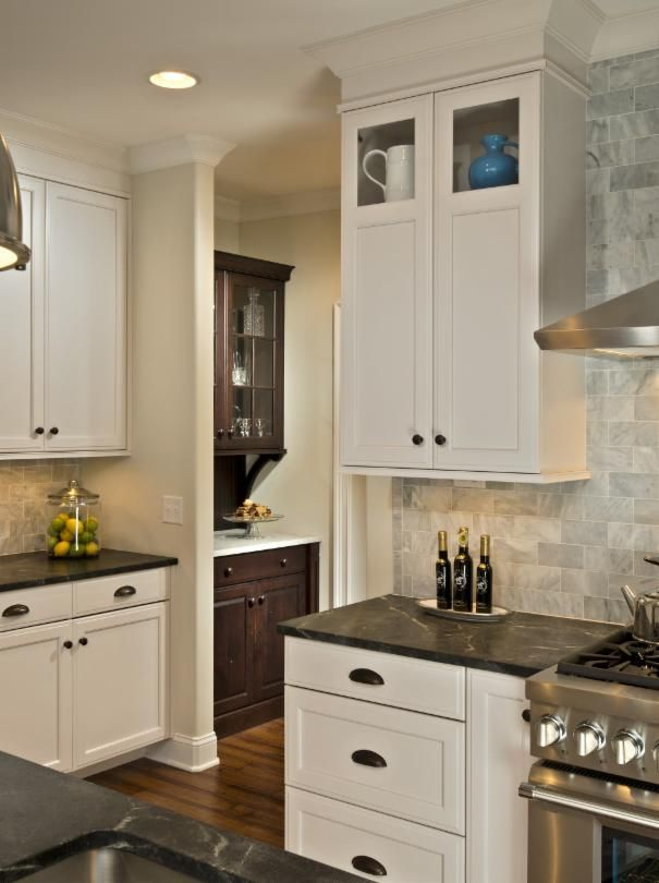 Photo of White Kitchen project in Saratoga Springs, NY by Witt Construction
