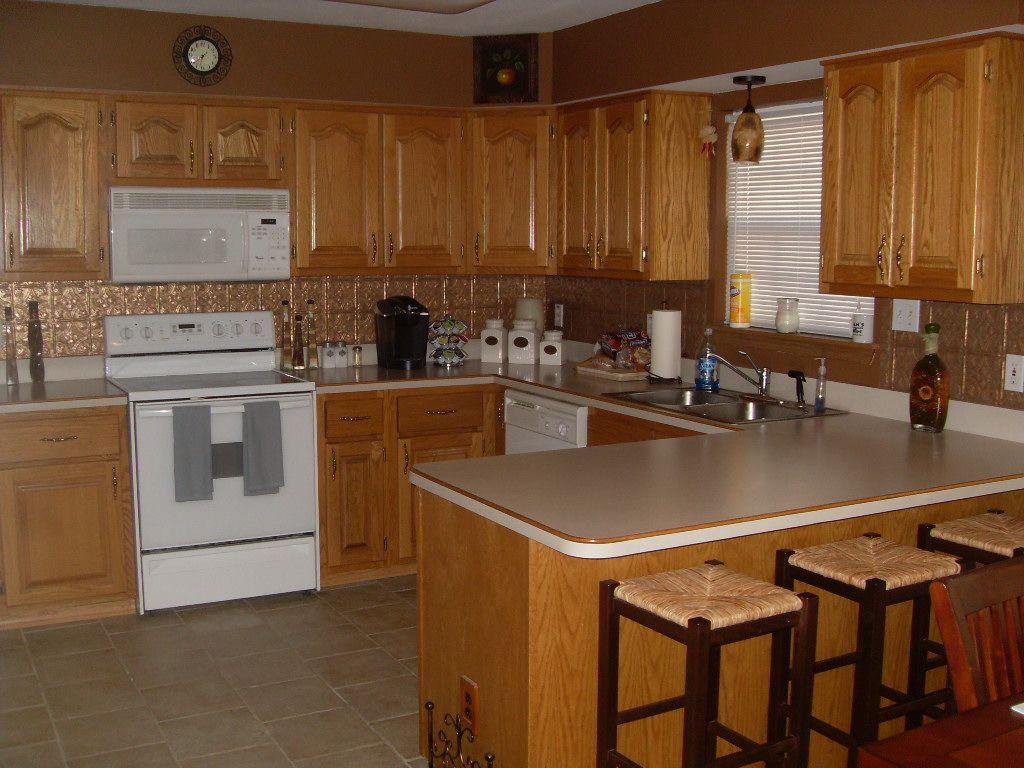 Nice Kitchen Backsplash Examples | Please Show Photos Of Tin Tile Backsplash    Kitchens Forum   GardenWeb