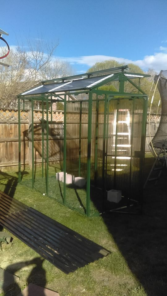 Multiplaz 3500 User Andy Stacks I Made This Greenhouse With My Multiplaz The Frame Is 1 Inch 065 Square Tubi Greenhouse Ventilation Roof Panels Greenhouse