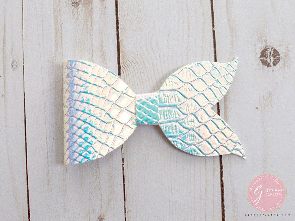 Mermaid Tail Bow Tutorial Bows Making Hair Bows