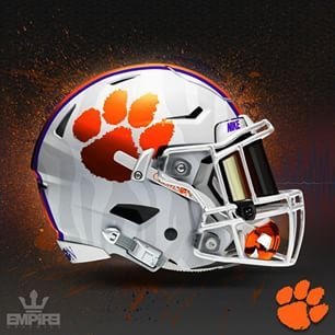 Maybe I Just Need To See It To Believe It Cool Football Helmets Clemson Football Football Helmets